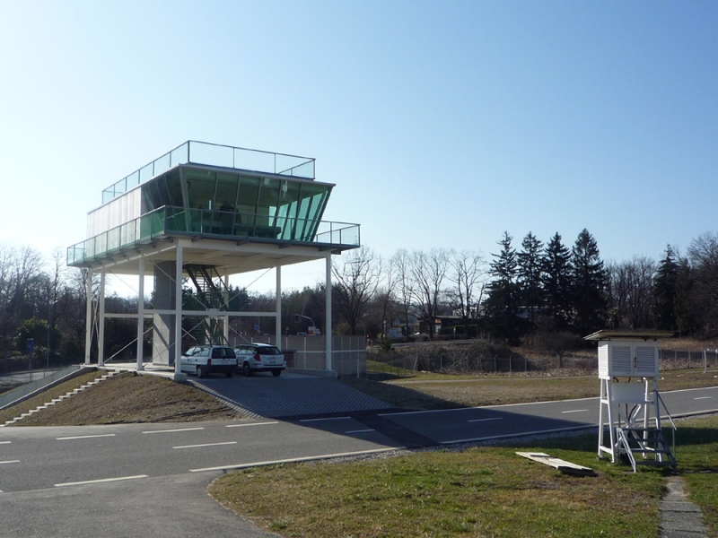 Isofloc Weather Observation Station At Geneva Airport
