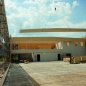 Timber element construction of gymnastics factory